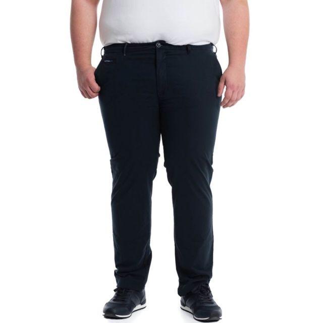 Pionier Pantalon toile robbie poches italiennes marine