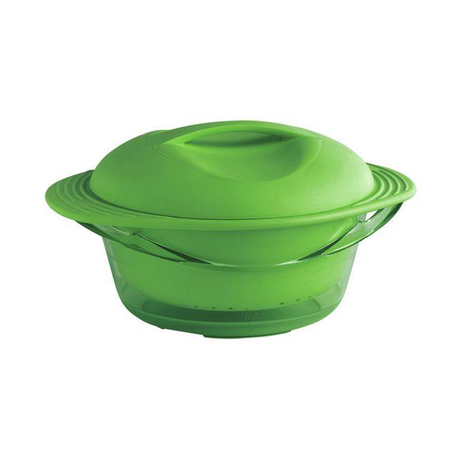 MASTRAD Cuit-vapeur - Bol et panier - vert - F70018