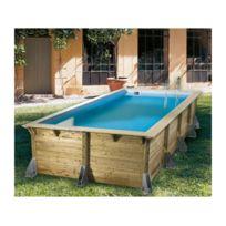 Ubbink - Piscine AZURA 350x505 H126cm Liner Beige 75/100ème 7504548