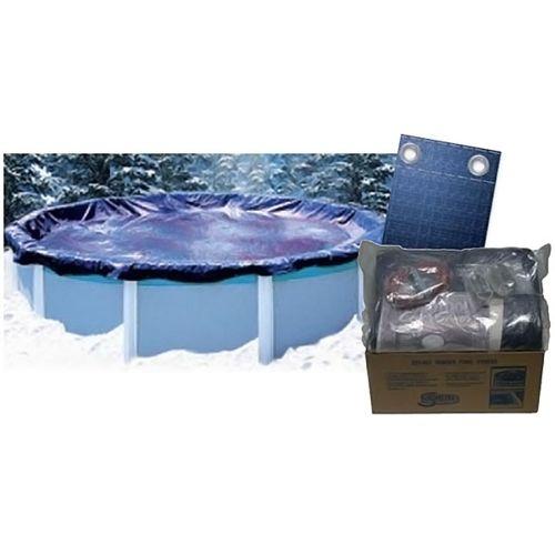 swimline liner swirl forme ronde d pour piscine. Black Bedroom Furniture Sets. Home Design Ideas