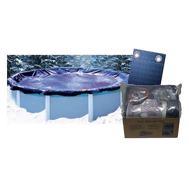 swimline b che d 39 hiver ronde d 5 48m pour piscine hors sol 0330011 3 pas cher achat. Black Bedroom Furniture Sets. Home Design Ideas
