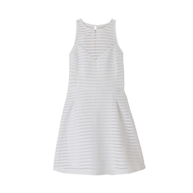 Guess - Robe Carol True White - Taille - Xl Blanc - pas cher Achat   Vente  Robes - RueDuCommerce 729aed6426c
