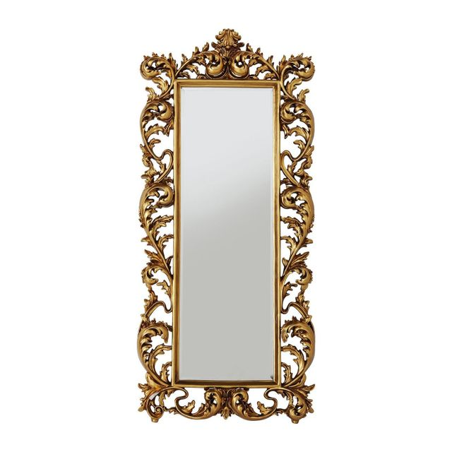Karedesign Miroir Sun King rectangulaire or 190x90cm Kare Design