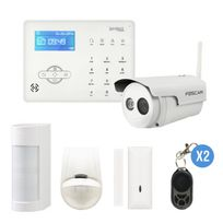 IPROTECT - Alarme GSM et surveillance pour maison et jardin