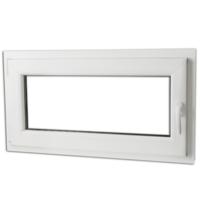 Rocambolesk - Superbe Fenêtre oscillo-battant en Pvc Poignée sur la droite 900 x 500 mm Neuf