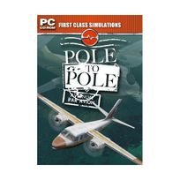 First Class Simulations - Pole to Pole Add-On for Fs 2004/FSX PC Cd, import anglais
