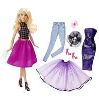 Barbie - Poupée Tenues à combiner blonde