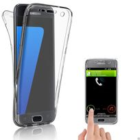 Cabling - Coque Galaxy S7 Edge, Silicone Case, Transparente Etui, Anti Scratch Housse, pour Samsung Galaxy S7 Edge