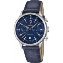 Festina - Montre Homme Chrono Cuir Bleu F16870/2 Sport