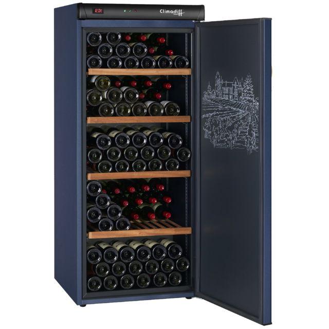 climadiff cave vin de vieillissement cvp180 pas cher achat vente cave vin rueducommerce. Black Bedroom Furniture Sets. Home Design Ideas