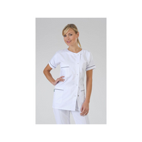 Label Blouse - Vêtement de travail médical et esthétique Modèle femme Julia Coloris : Marine