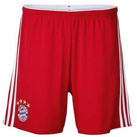 Adidas originals - Short Fc Bayern Munich Football Homme rouge Adidas 289c97a044d