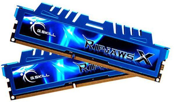 G.SKILL RipjawsX 16Go 2x8Go, Pc12800 1600Mhz 1.5V Cl9