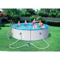 BESTWAY - Kit piscine acier ronde HYDRIUM - ? 360 x H 90 cm - 56377