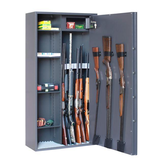 Elite Model   Armoire Forte Elite Reload Mixte 10 Armes + étagères