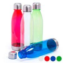 7bf9555eb2f Totalcadeau - bouteille en plastique avec acier inoxydable 700 ml Bidon  Couleur - Rouge
