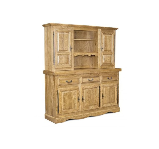 hellin ensemble bahut et vaisselier la bresse ch ne clair vendu par rueducommerce 19138051. Black Bedroom Furniture Sets. Home Design Ideas