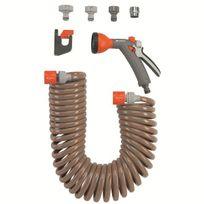 Gardena - Kit d'arrosage avec tuyau flexible 10m