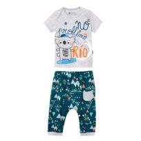 37422d9f4a409 Ensemble bébé garçon t-shirt + sarouel Rio - Taille - 12 mois. PETIT BEGUIN  ...