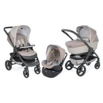 Chicco - Poussette Trio StyleGo Up - Beige