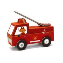 Krooom - Jouet à plier : Fold my car! : Camion de pompiers