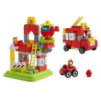 Chicco - Baril Pompiers 70 pièces