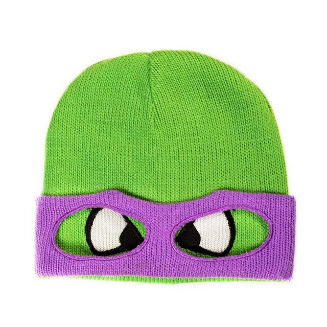 Kas Design Bonnet Tortues Ninja - Bonnet Tortues Ninja Donatello - Bonnet Tortues Ninja Donatello