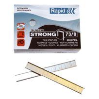 Rapid Agrafage - Agrafe Rapid 73/8 forte galvanisée - Boîte de 5000