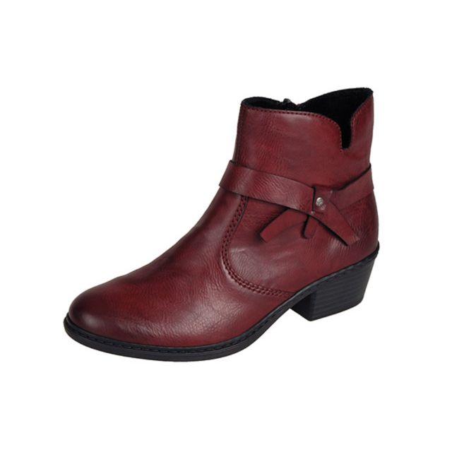 Achat chaussures Rieker Femme Boots, vente Rieker Boots Noir