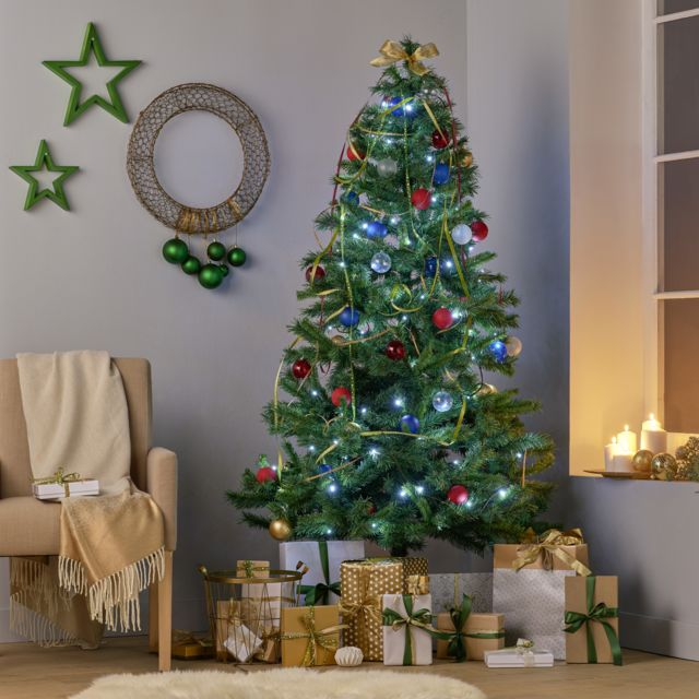 Carrefour Sapin Artificiel 626 Branches N7 Vert H 180