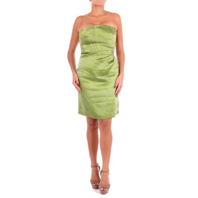 Armani Ea7 Emporio Armani Femme 2NA3ZT22127534 Vert Viscose Robe