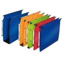L'oblique A-z - l'oblique dossiers suspendus Polypro Fun, lageur:50 mm, bleu