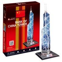 Cubicfun - Puzzle 3D 14 pièces : Tour de la Banque de Chine
