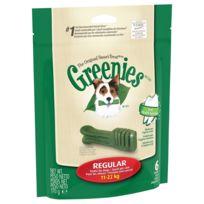 Greenies - Bâtonnets à Mâcher pour l'Hygiène Dentaire pour Moyen Chien - x6