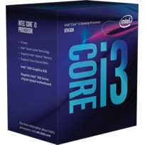 Core i3-8100 - 3,6 GHz