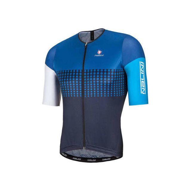 Nalini - Maillot Velodromo manches courtes bleu