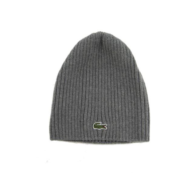 LACOSTE , bonnets rb3504 gris , pas cher Achat / Vente