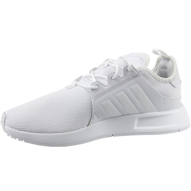 Adidas X_PLR J Cq2964 Blanc pas cher Achat Vente