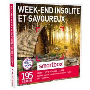 smartbox week end insolite et savoureux coffret cadeau pas cher achat vente coffret. Black Bedroom Furniture Sets. Home Design Ideas