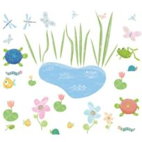 York Wall Coverings - Roommates Hoppy Pond Peel & Stick Appliques