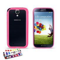 """Muzzano - Bumper Contour de Coque """"Le Bumper Colors"""" Premium Rose pour Samsung Galaxy S4"""