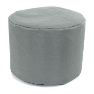mon beau tapis pouf rond gris nuage int rieur ext rieur 40x30cm pas cher achat vente poufs. Black Bedroom Furniture Sets. Home Design Ideas
