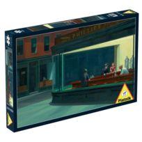 Piatnik - Puzzle 1000 pièces Edward Hopper : Nightawks