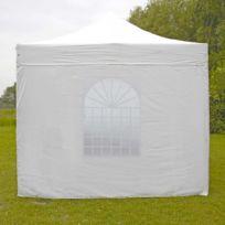 Mobeventpro - Mur fenêtre tente pliante Pro 40MM 3m blanc