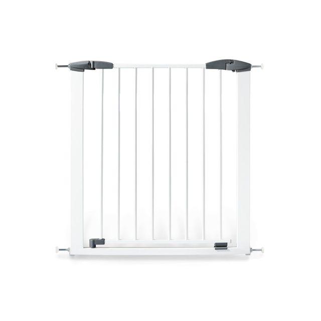 comforium barri re de protection en m tal et h tre massif coloris blanc pas cher achat. Black Bedroom Furniture Sets. Home Design Ideas