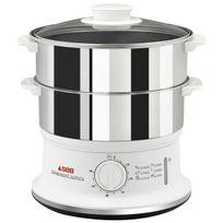 SEB - cuiseur vapeur 2 Bols Convenient Inox 6 Litres VC1451-00