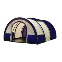 Freetime - Galaxy 6-7 Pl -tentes camping familiales -tente tunnel 6 personnes - tente camping confort
