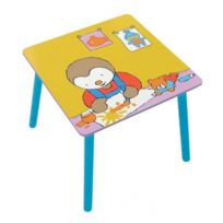 T'CHOUPI - Table de jeu carrée - Bureau pour enfant