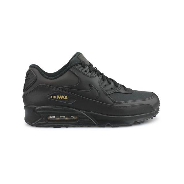 meilleure sélection 778bd 3ec53 Nike - Air Max 90 Premium Noir 700155-011 44 - pas cher ...