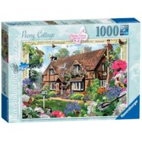 Ravensburger - Pays Collection N°8 - Pivoines Cottage 1000PC Jigsaw